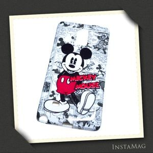 DISNEY Mickey Mouse Phone Cover for Galaxy Note 4